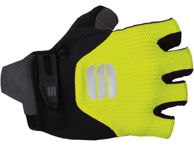 Sportful Neo Cykelhandsker, yellow fluo/black